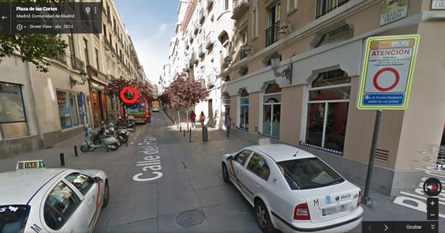 multas en plaza santa ana y parking madrid inquimero