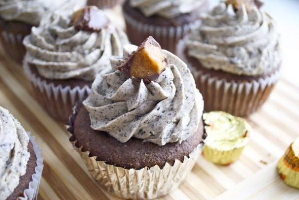 Muffin con oreo