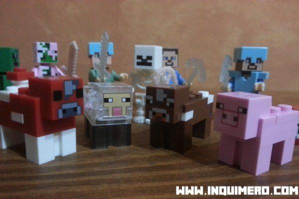 animales lego minecraft