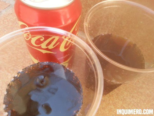 experimento coca cola vainilla