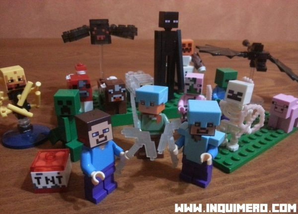 figuras lego minecraft
