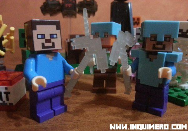 personajes lego minecraft